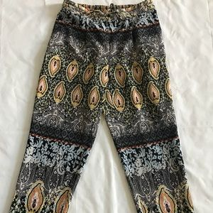 New Direction Aztec Print Pants
